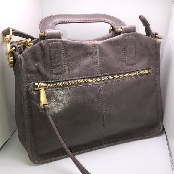 HOBO Handbags - NewHobo Women Adley Leather Crossbody Bag - Cement